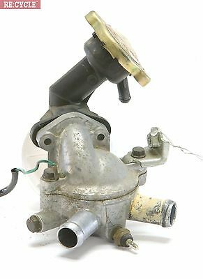 Radiator cap, thermostat & housing off 00 Honda Shadow VT1100 C2 Sabre Video