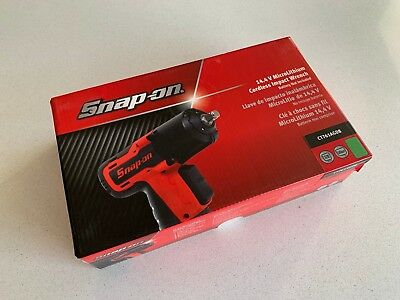 "*NEW* Snap On 14.4V 3/8"" Green MicroLithium Cordless Impact Wrench CT761AGDB"