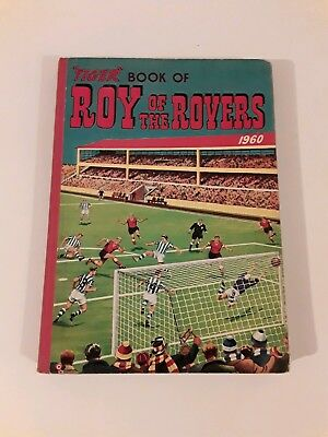 TIGER Book Of Roy Of The Rovers 1960 Illustrated Comic Annual Colour Pictures