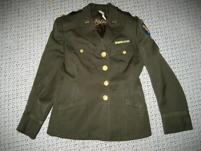 .US Army Air Force WOMAN OFFICER JACKET MAJOR rank  ww2