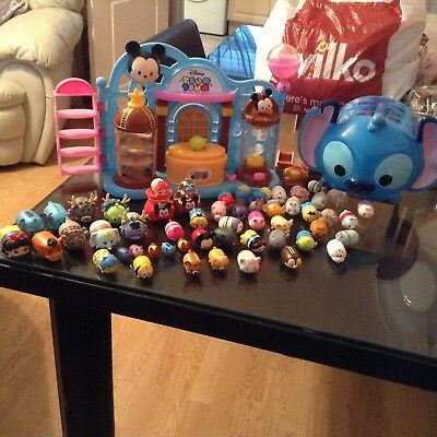 Job Lot Of Disney Tsums Pre-owned