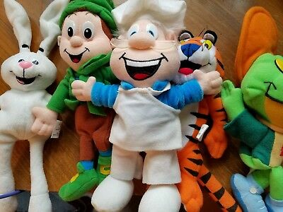 VTG 1997  General Mills Breakfast Babies Cereal Characters and Kelloggs
