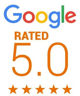 5 Star Google Reviews for business (ONE-HUNDRED)