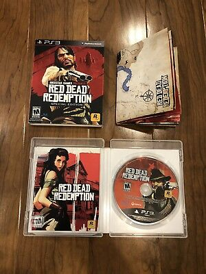 Red Dead Redemption - Special Edition (Sony PlayStation 3, 2010) PS3