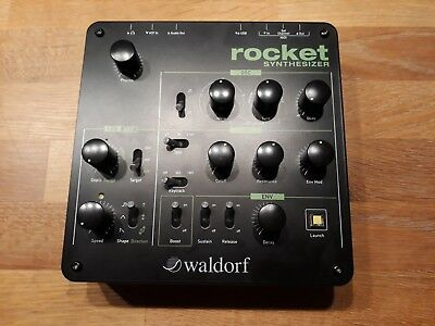 Waldorf Rocket Synthesizer - Top Filter & Fetter Sound - Neuwertiger Zustand !