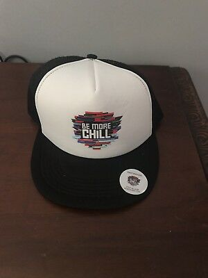 Be More Chill First Preview Only Trucker Hat Off Broadway NYC 2018 Musical