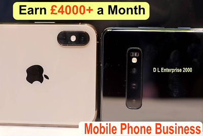 Mobile Phones & Tablets | Business For Sale | £3000+ Profit Per Month + Website