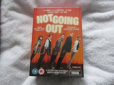Not Going Out - Series 1-5 - Complete (DVD, Box Set) - Free First Class Postage!