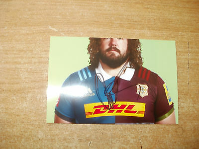 Signed Photo-Adam Jones-Harlequins And Wales Rugby