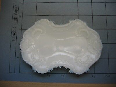 Vintage Victorian Mike Glass Dresser Dish/tray