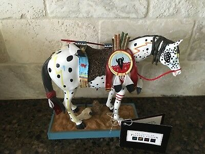 Retired 2003 Trail of Painted Ponies WAR PONY #1452 Horse Figurine