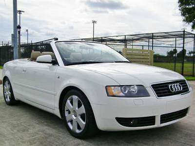 2006 A4 1.8T Cabriolet VERY LOW MILES!! CLEAN HISTORY!! AUDI A4 1.8T CABRIOLET!! HEATED SEATS!! SAVE $