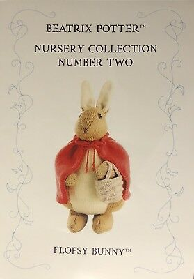 Alan Dart'S Beatrix Potter Character 'Flopsy Bunny' Knitting Pattern New