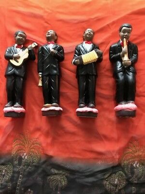 Black Figurines Musician Collection