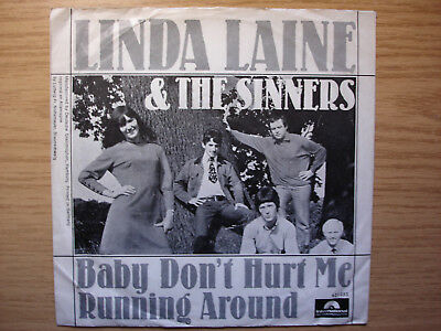 LINDA LAINE AND THE SINNERS Baby Don't Hurt Me Polydor International 421053