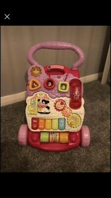 Pink vtech Walker. With Phone. Sound & Lights. Great Condition. Girls / Baby Toy