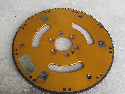 168 tooth Reactor Chevy v8 BBC  flywheel flexplate dragster drag boat billet