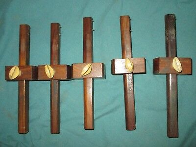 5 No Rosewood Mortise Gauges