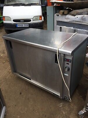 Catering commercial hot cupboard hot  plate food warmer 2 side doors