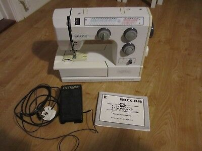 Riccar 829 Electronic Diamond Sewing Machine Spares or Repairs