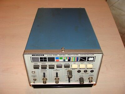 Leader LCG-396 NTSC Pattern Generator Test Equipment