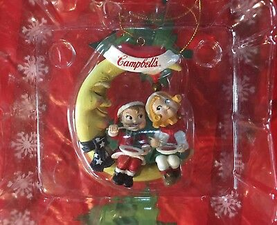 Three Campbell Soup Ornaments