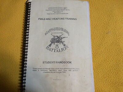 Field And  Weapons Training Manual Field And Fire Training.