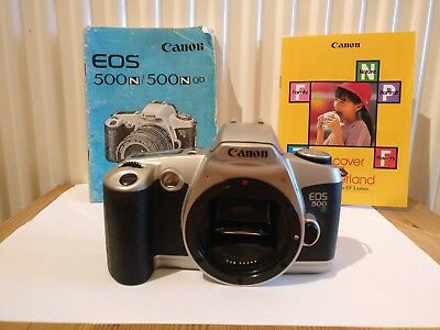Canon EOS 500N 35mm SLR Film Camera Body Only