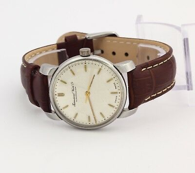 1940's IWC International watch co Schaffhausen stainless steel watch cal. C 89