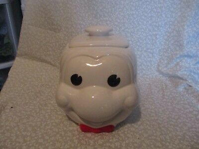 Vintage archway cookie jar in very good condition.