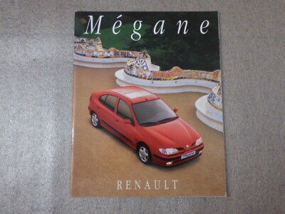 Catalogue / Brochure Renault Mégane RL RN RT 12/1995