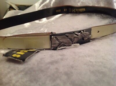 """Gianni Versace Vintage leather belt Unisex Gianni Versace new up to 26"""""""