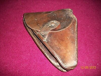 WW1 French 1915 Ruby Pistol Holster, Rare Original