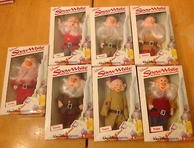Vintage Snow White And The Seven Dwarves All New In Box