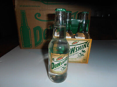One  Limited Edition 12 Oz. Full Bottle Of Dewshine-2015- By Mountain Dew