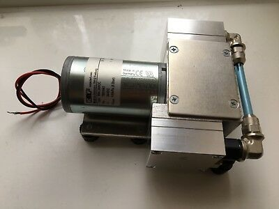 N84.3ANDC Mini Diaphragm Vacuum Roughing Pump KNF Brand 24v, 30kPa (0.3bar)