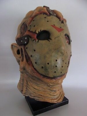 JASON GOES TO HELL mask FRIDAY 13th ULTRA RARE VG OOP collectible AUTOGRAPHED