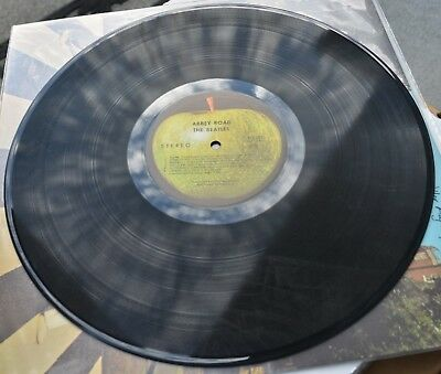 The Beatles !! Abbey Road Vinyl LP Made in Winchester VA Early Issue w/o Majesty