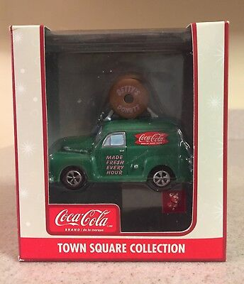 2003 Coca Cola Town Square Collection Betty's Donut Truck