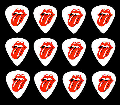 ROLLING STONES  Guitar Picks *Limited Edition* Set of 12