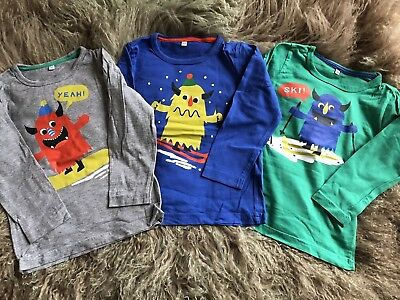 M&S Boys Christmas / Winter Top Bundle, Age 2-3 Years