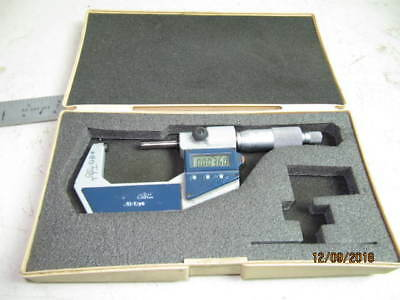 "MITUTOYO DIGIMATIC OUT SIDE MICROMETER. 1-2"" No.293-7 ACCURACY 0.0001"