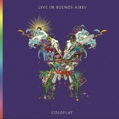 Coldplay - [Live In Buenos Aires] Album 2CD Sealed