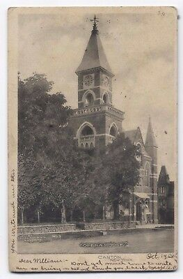 NY ~ Opera House CANTON New York 1906 St. Lawrence County Postcard ~ Local Publ.