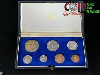 1967 South Africa Proof 7-Coin Set In Box #16618