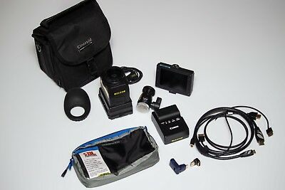 """Cineroid EVF4RVW Viewfinder with 3.5"""" Retina LCD Display, 960x640 w/ accessories"""