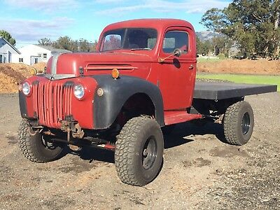 1946 Ford Other Pickups Flatbed 1946 Ford 10' Flatbed Classic Truck 3/4 Ton 4x4 Hot Rod