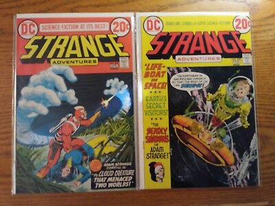 Strange Adventures #240 and #241. Two Book Lot. Near Mint.
