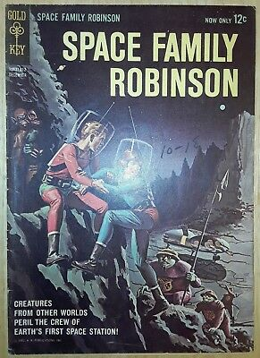 Space Family Robinson #1 (LOST IN SPACE #1) - 1962 -  Low Distribution