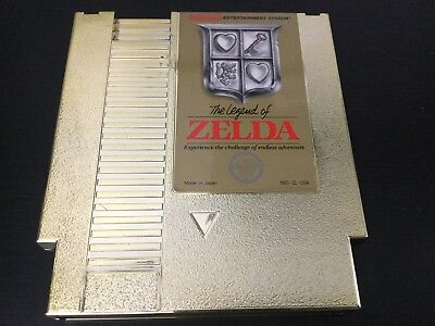 Legend of Zelda Gold NES Nintendo Cart Only - Very Good
